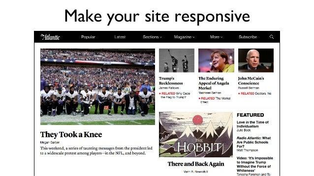 Credit: Kārlis Dambrāns / CC BY Make your site responsive