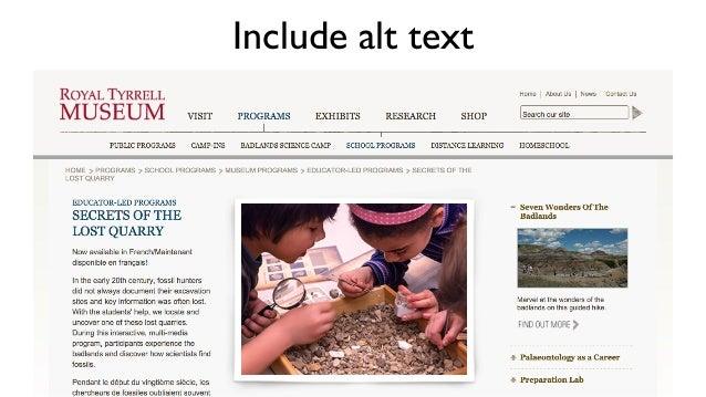Ensure link text is descriptive No No No