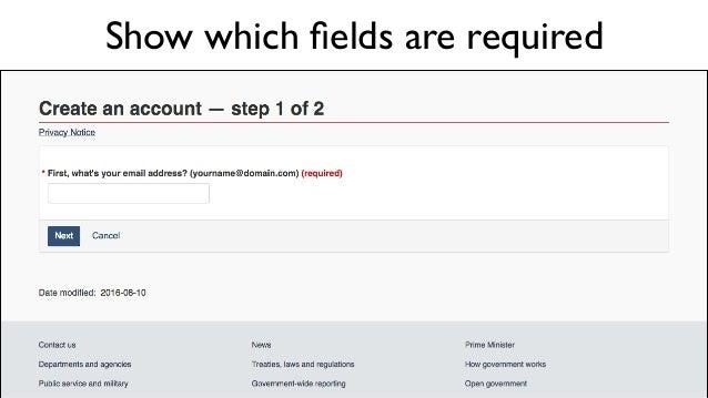 Provide helpful error messages