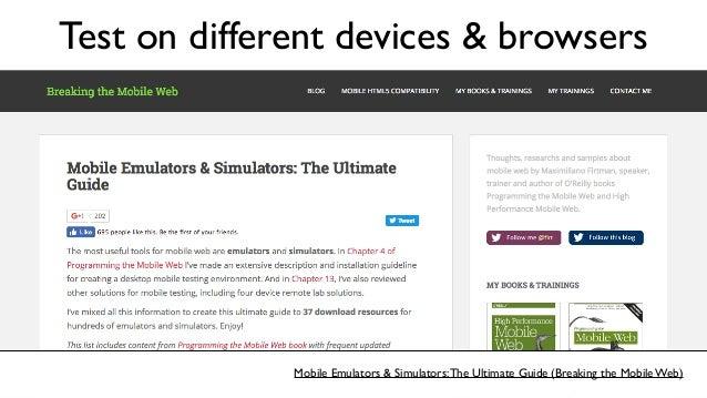 Fangs Screen Reader Emulator (Firefox Add-On) Test on screen readers