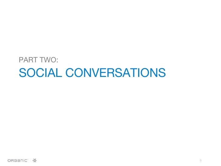 PART TWO:   SOCIAL CONVERSATIONS
