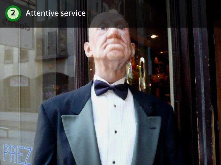 2 Attentive service 2.