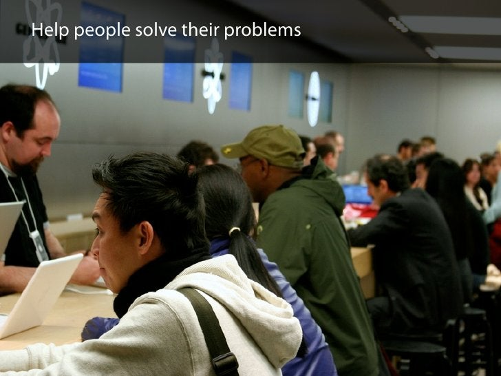 Help people solve their problems