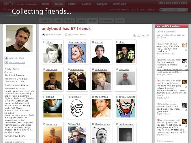 Collecting friends...