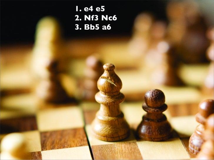 1. e4 e5 2. Nf3 Nc6 3. Bb5 a6