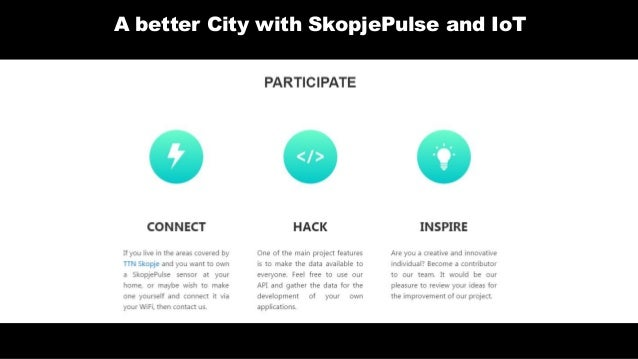 SkopjePulse: Designing a better city with IoT