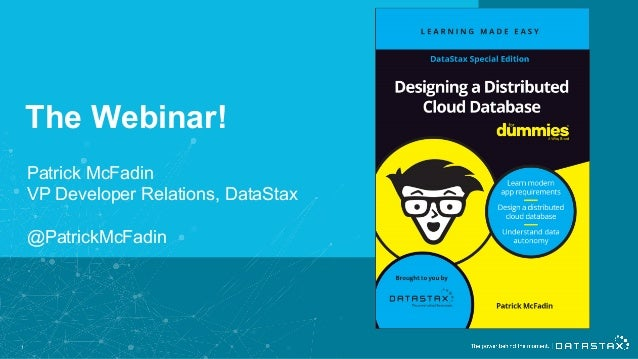 Designing a Distributed Cloud Database for Dummies