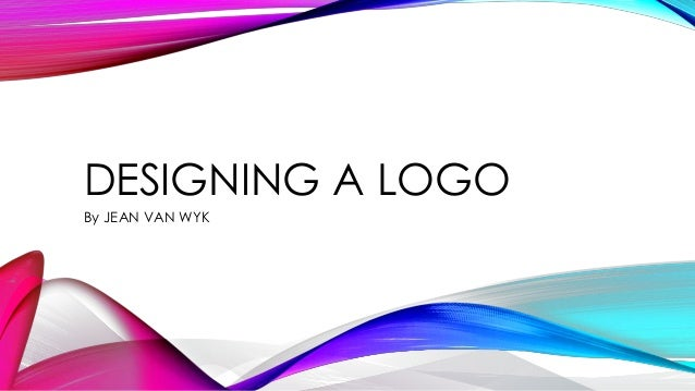 Designing A Logo By Jean Van Wyk