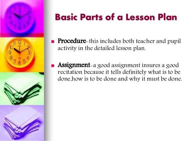 DEVELOPING LESSON PLAN - EDUC 5