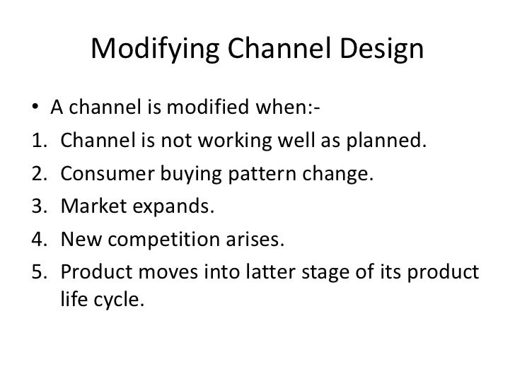 Designing and Managing Integrated Marketing Channels - Essay Example