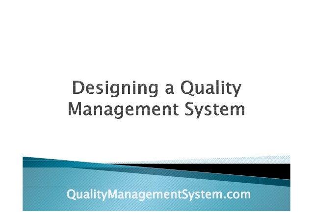QualityManagementSystem.com