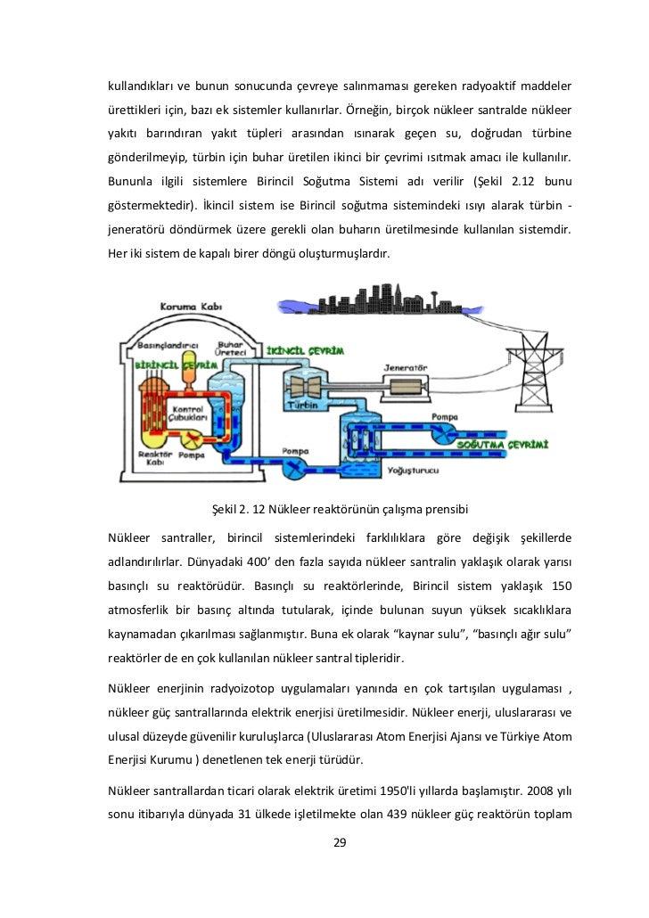 kullandıkları ve bunun sonucunda çevreye salınmaması gereken radyoaktif maddelerürettikleri için, bazı ek sistemler kullan...