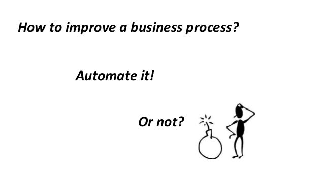 Designing a to be process