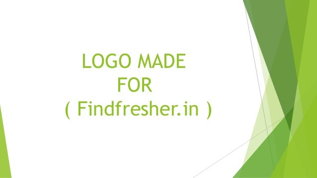• Findfresher.in