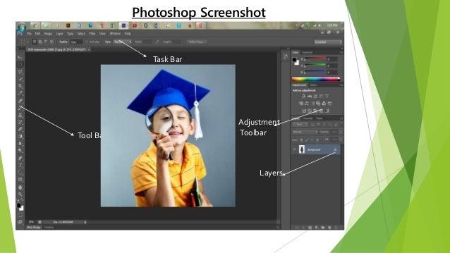 • Photoshop tool box