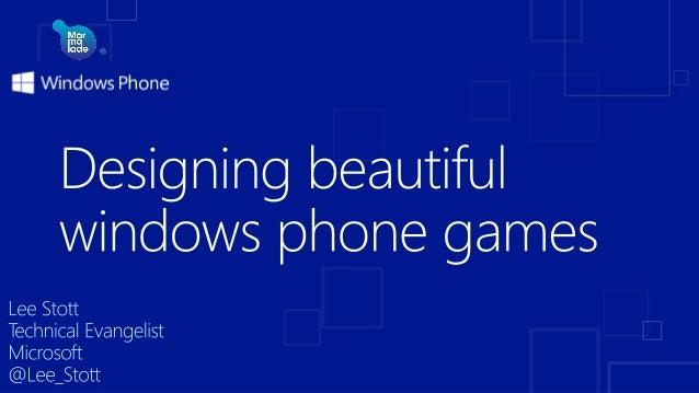 Windows Phone 8 Shared core with Windows 8 Common programming model Reusable code Native games http://dev.windowsphone.com