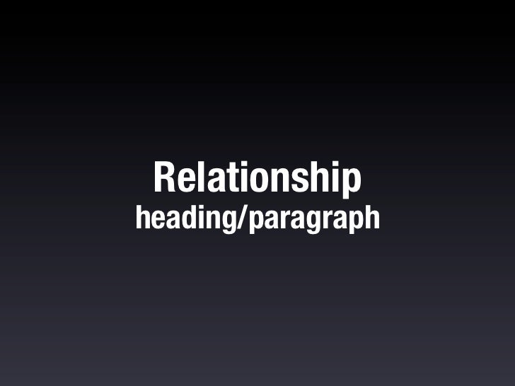 Consider that headings should be closer tothe paragraphs they're related to:h1, h2, h3, h4 { padding-‐top: 12...