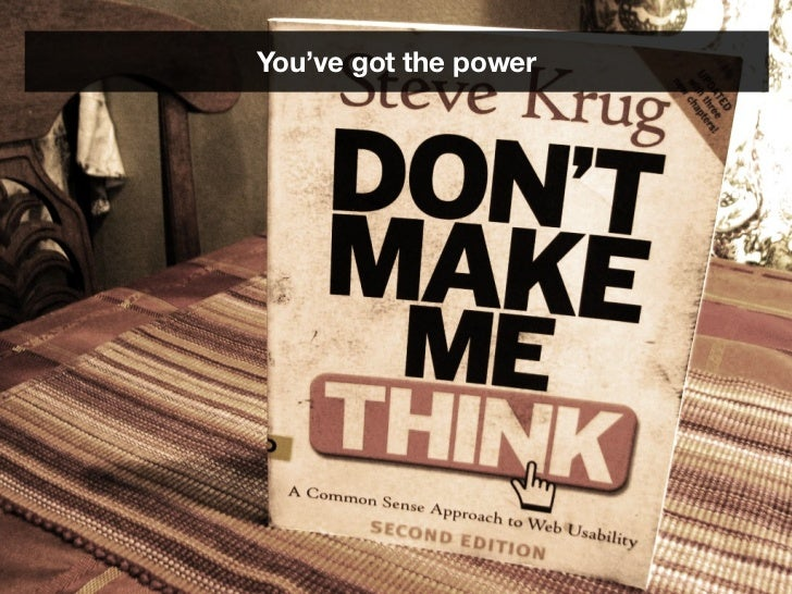 You've got the power           I think everyone has the power to make a           good product because it's more about    ...