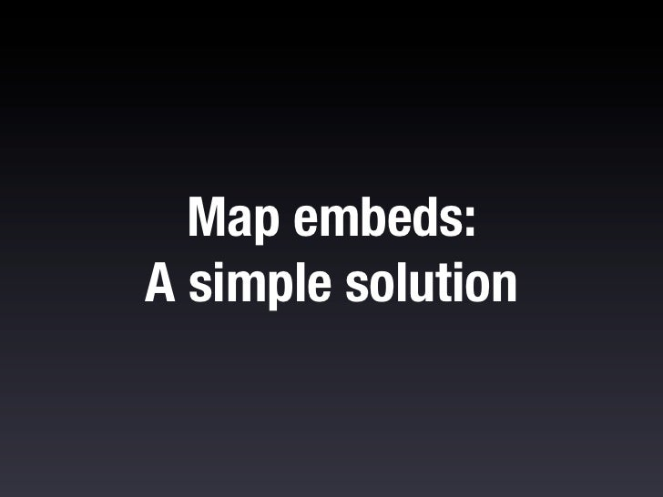 If I hit the link on mobile I'm taken directly tothe Maps application.