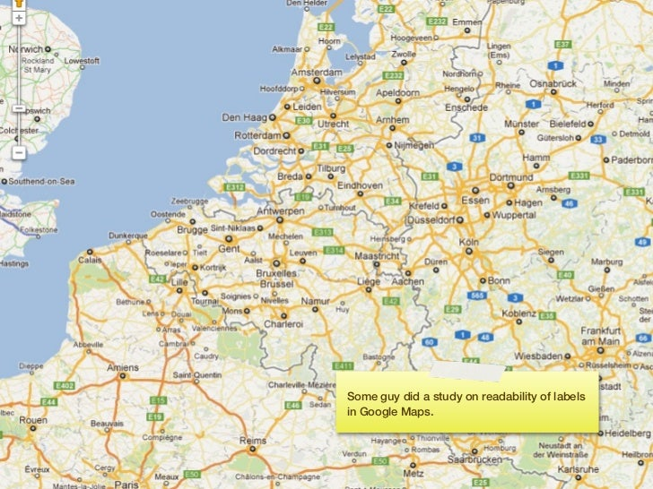 He compared Yahoo!, Bing and Google maps                                                       and found Google maps to th...