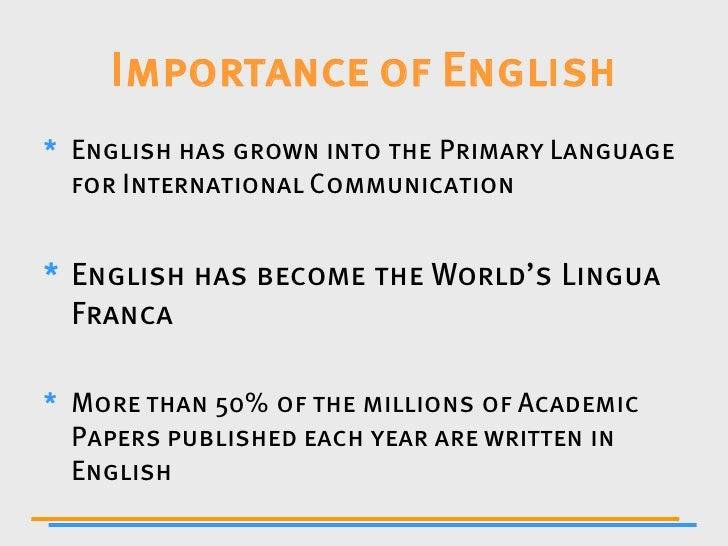 importance of communication in english pdf