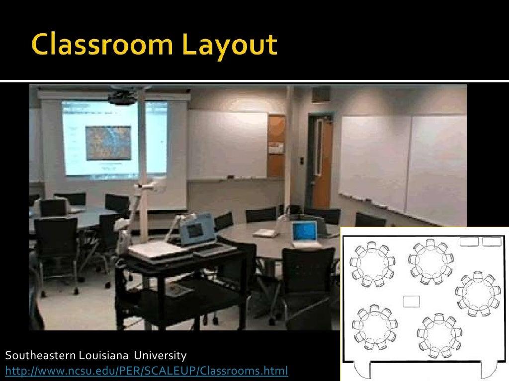 classroom layout<br >southeastern louisiana university<br