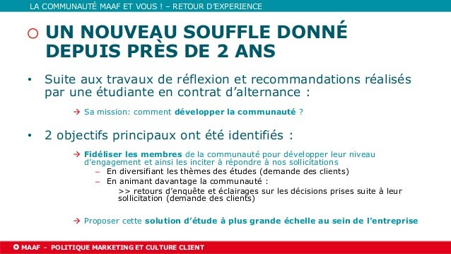 03/06/2021 l PAGE 21 MAAF l NOM DE LA DIRECTION TITRE DE LA PRÉSENTATION LA COMMUNAUTÉ MAAF ET VOUS ! – RETOUR D'EXPERIENC...