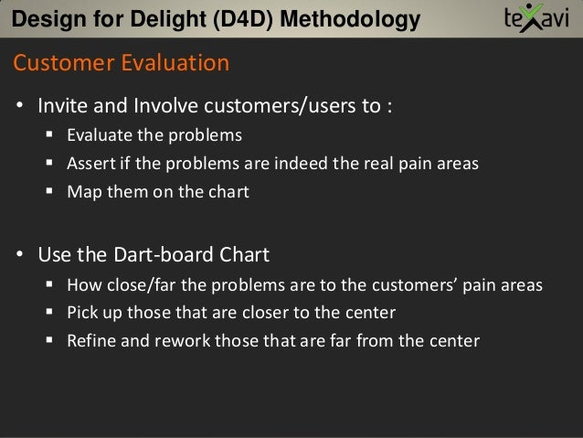Customer Evaluation • Invite and Involve customers/users to :  Evaluate the problems  Assert if the problems are indeed ...