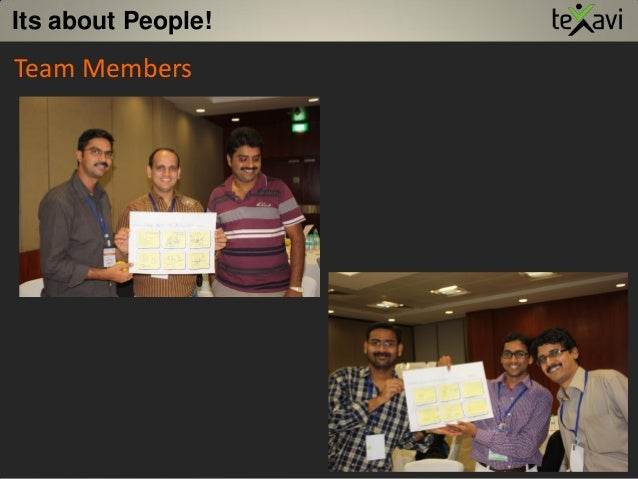 Its about People! Team Members