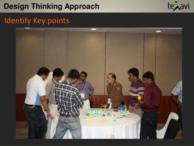 Design Thinking Approach Identify Key points