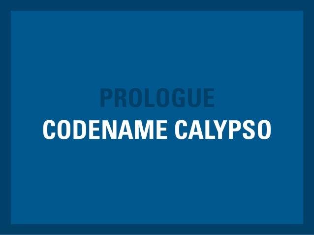 CODENAME CALYPSO PROLOGUE