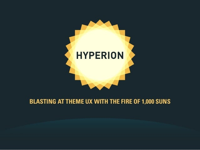 HYPERION BLASTING AT THEME UX WITH THE FIRE OF 1,000 SUNS