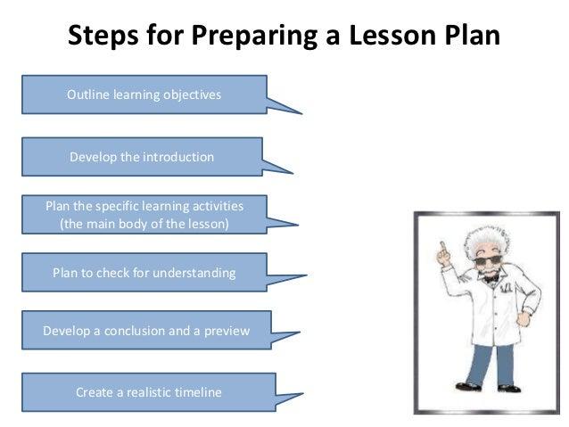 Develop Effective Lesson Plans