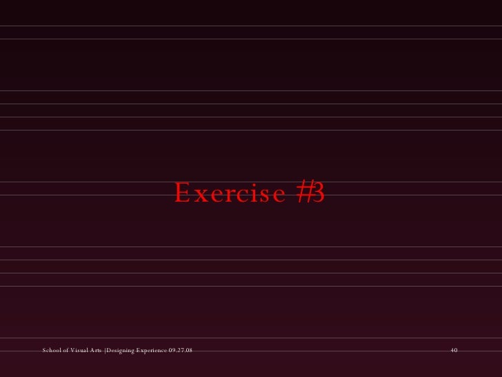 Exercise #3