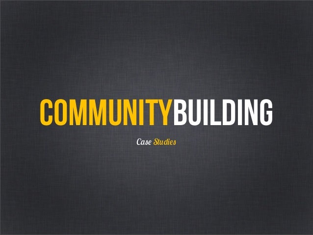 Designing for Attention Transmedia Singapore Masterclass Part 2: Community Building Slide 2
