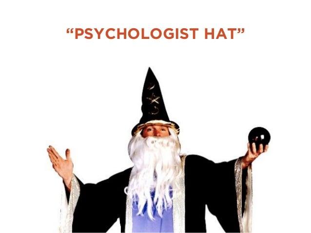 """""""PSYCHOLOGIST HAT"""""""
