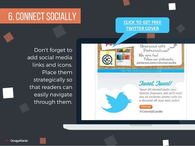 Connect sociallyCLICK TO GET FREE TWITTER COVER