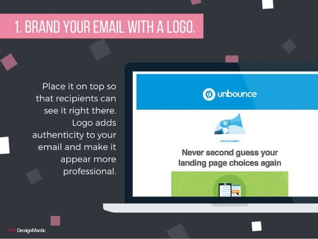 Brand your email with a logo