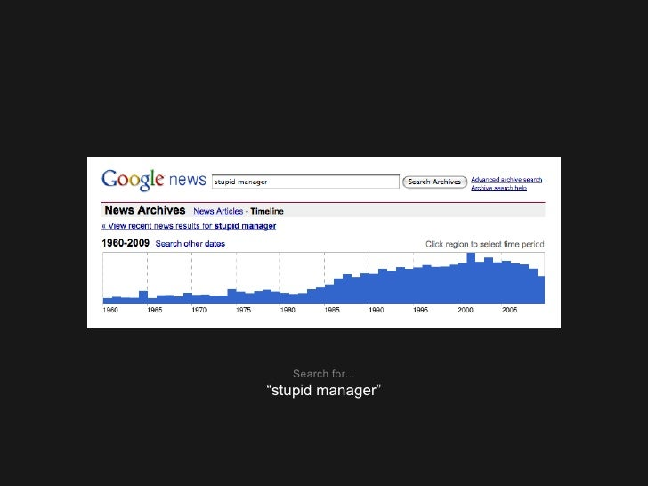 """Search for... """" stupid manager"""""""