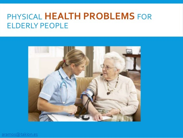 Gamification and Physical Health Problems for elderly people