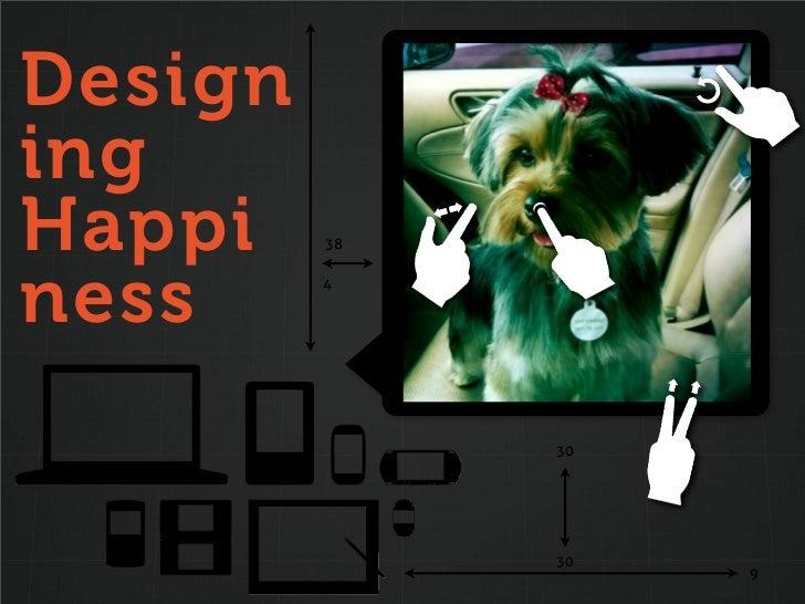 DesigningHappi    38ness     4              30              30                   9