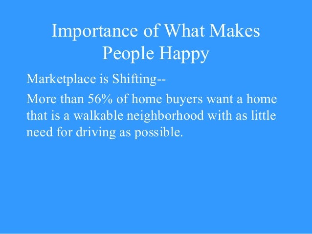 Ten Principles for Building Healthy Places The Urban Land Institute 2013