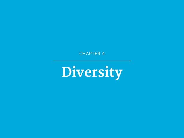 CHAPTER 4 Diversity