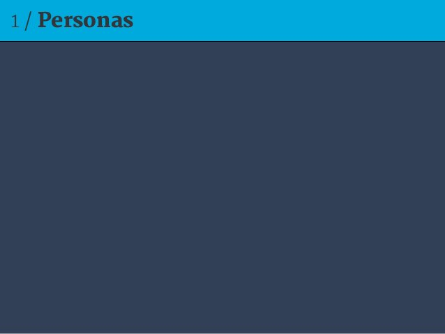 1 / Personas
