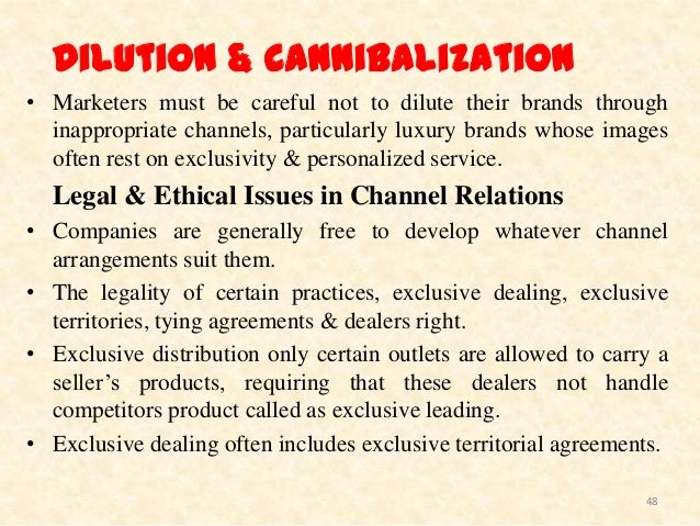 channel conflict and ethical considerations in channel relations Raising ethical concerns, and reporting possible violations we are proud   avon's integrity helpline or through one of the other reporting channels listed in  the.