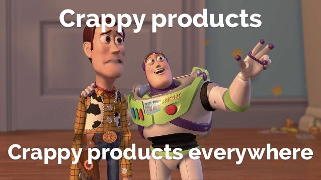 @lissijean Crappy products Crappy products everywhere