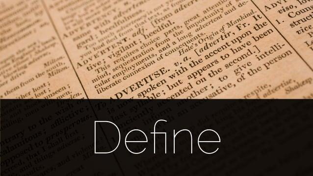 @lissijean Define Define