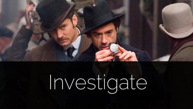 @lissijean Investigate