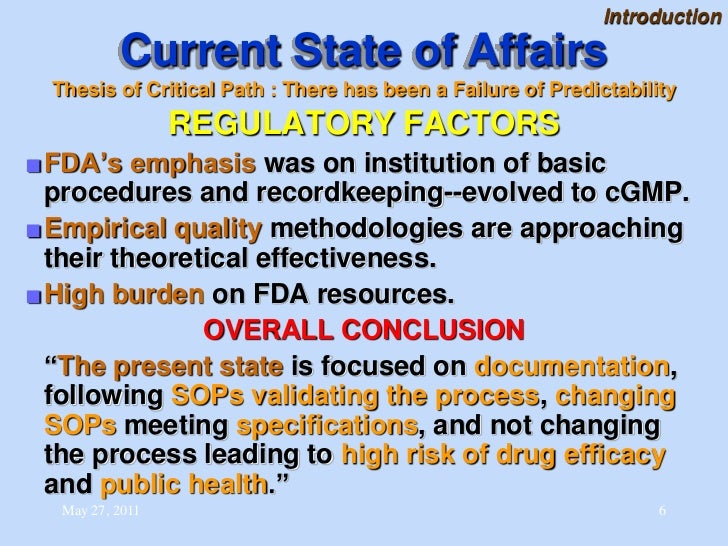 Sdsu regulatory affairs thesis