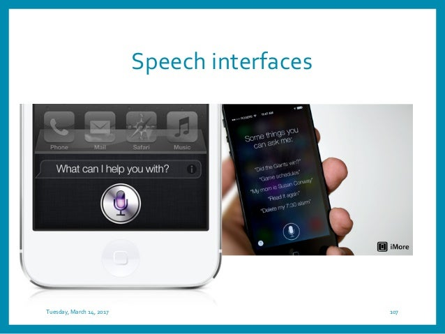Shareable interfaces Tuesday, March 14, 2017 109